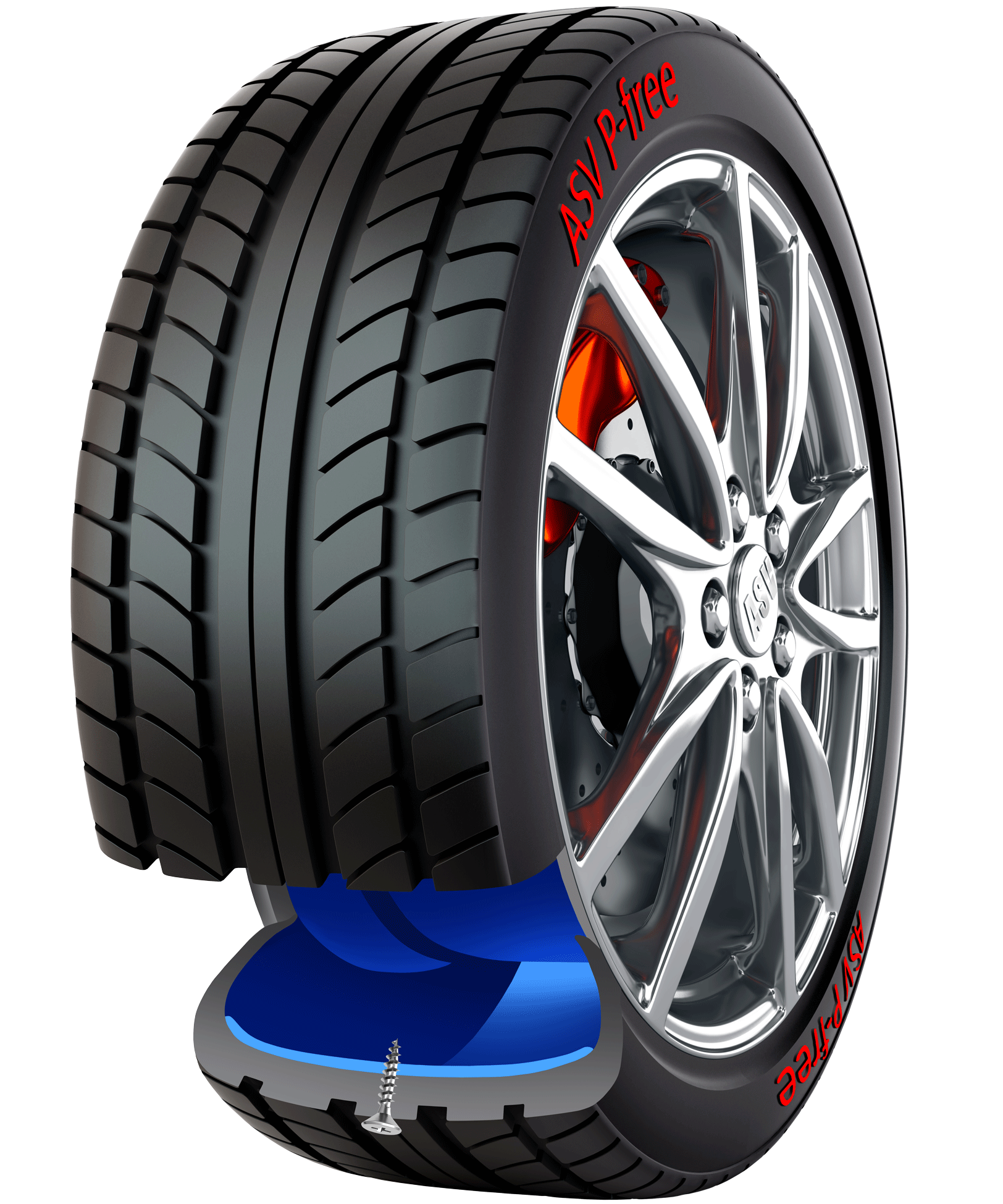innovation-1 ASV P-Free Safety First Tyre Technology